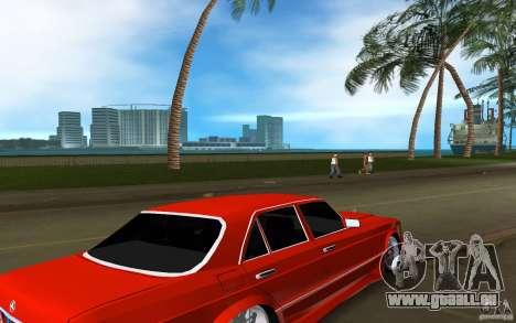 Mercedes-Benz W126 Wild Stile Edition für GTA Vice City rechten Ansicht