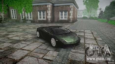 Lamborghini Gallardo LP560-4 pour GTA 4 Vue arrière