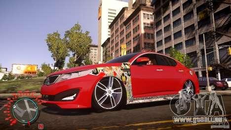 Kia Optima Dub pour GTA 4