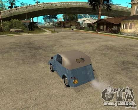SMZ s-3 a pour GTA San Andreas laissé vue