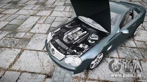 Mercedes Benz SL65 AMG V1.1 pour GTA 4 Vue arrière