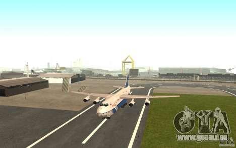 L'an-124 Ruslan pour GTA San Andreas laissé vue