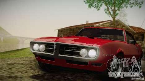 Pontiac Firebird 400 (2337) 1968 für GTA San Andreas