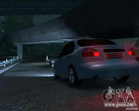 Daewoo Lanos für GTA 4 hinten links Ansicht