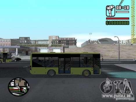 A099 LAZ (SitiLAZ 8) pour GTA San Andreas vue de droite