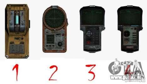 Detektor des S. t. A. l. k. e. R # 1 für GTA San Andreas