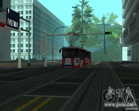 LM-2008 pour GTA San Andreas laissé vue