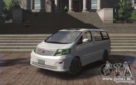 Toyota Alphard v2.0 pour GTA 4