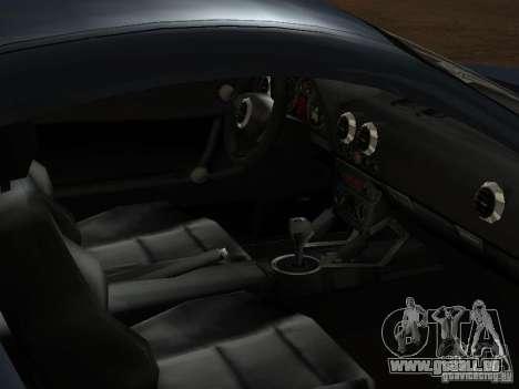 Audi TT 3.2 Quattro für GTA San Andreas Unteransicht