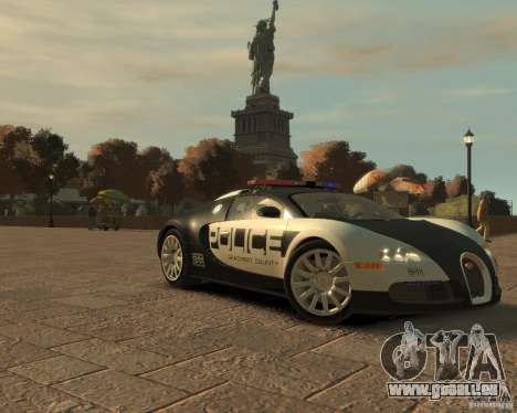 Bugatti Veyron Police [EPM] für GTA 4