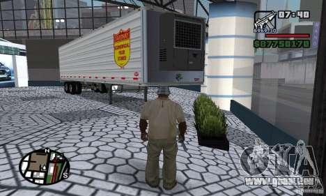 Semi Artict1 pour GTA San Andreas laissé vue