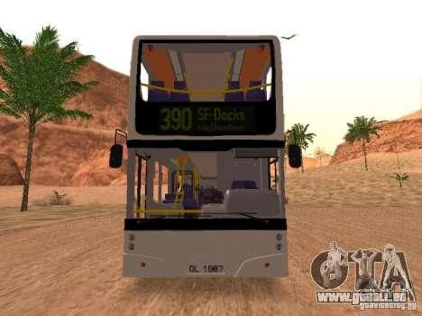 Volvo B7L pour GTA San Andreas laissé vue