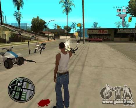 GTA IV HUD pour GTA San Andreas quatrième écran
