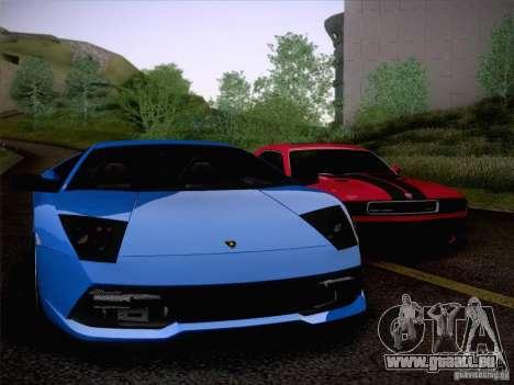Lamborghini Murcielago LP640 pour GTA San Andreas vue de côté