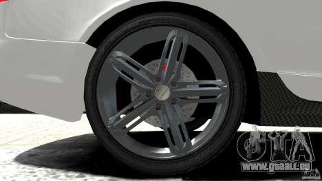 Audi RS6 Avant 2010 Carbon Edition pour GTA 4 vue de dessus