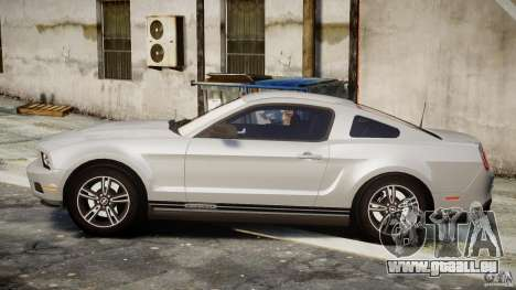 Ford Mustang V6 2010 Premium v1.0 pour GTA 4 est une gauche