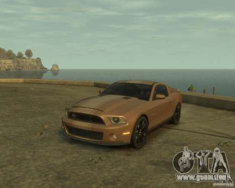 2011 Shelby GT500 Super Snake pour GTA 4