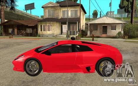 Lamborghin Murcielago LP640 v2 für GTA San Andreas linke Ansicht