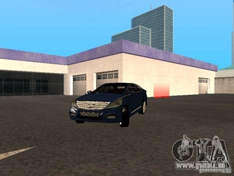 Hyundai Azera 2012 für GTA San Andreas
