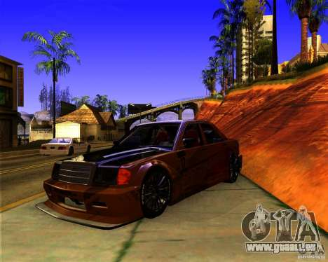 Mercedes Benz 190E - SpeedHunters Edition für GTA San Andreas