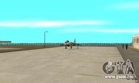 Guerre aérienne pour GTA San Andreas neuvième écran