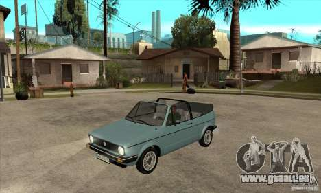 Volkswagen Golf Mk1 Cabrio für GTA San Andreas