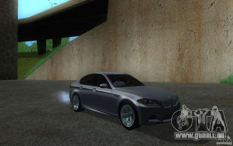 BMW M5 2012 für GTA San Andreas linke Ansicht
