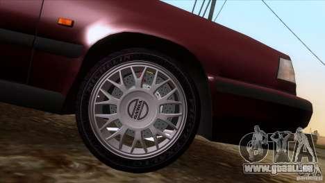 Volvo 850 Final Version pour GTA San Andreas sur la vue arrière gauche