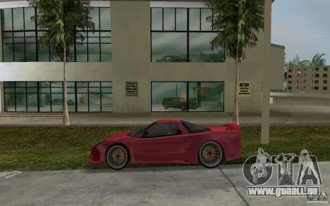 Acura NSX 2004 Veilside für GTA Vice City linke Ansicht