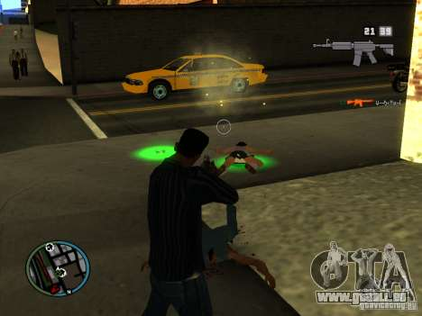 KILL LOG für GTA San Andreas zweiten Screenshot