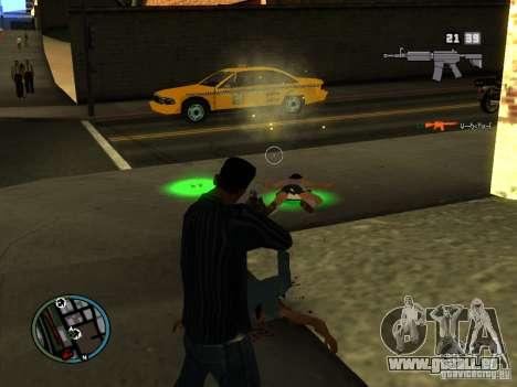 KILL LOG pour GTA San Andreas deuxième écran