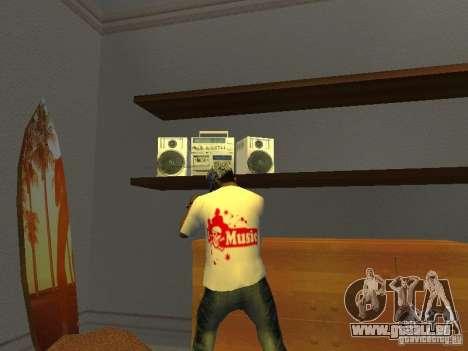 T-shirt tectonique pour GTA San Andreas deuxième écran
