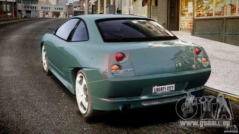 Fiat T20 Coupe pour GTA 4 Vue arrière de la gauche