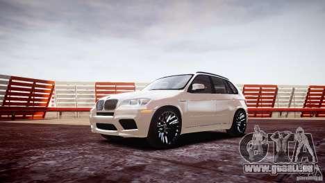 BMW X5M 2011 pour GTA 4 est une gauche