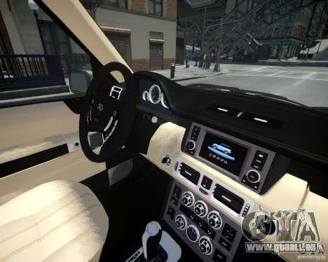 Land Rover SuperSharged pour GTA 4 est un côté