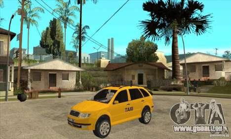 Skoda Fabia Combi Taxi für GTA San Andreas