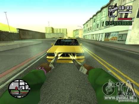 Erste Person (First-Person-mod) für GTA San Andreas zehnten Screenshot