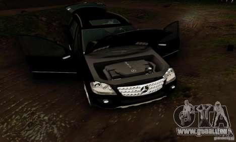 Mercedes-Benz ML500 pour GTA San Andreas vue intérieure