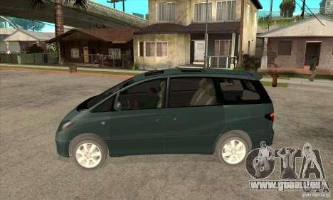 Toyota Estima pour GTA San Andreas laissé vue