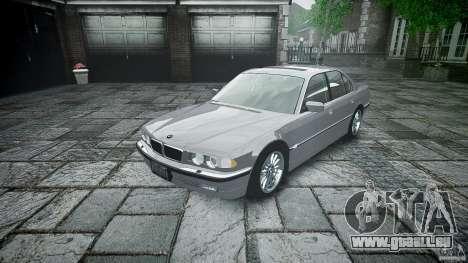 BMW 740i (E38) style 32 pour GTA 4 est une vue de l'intérieur