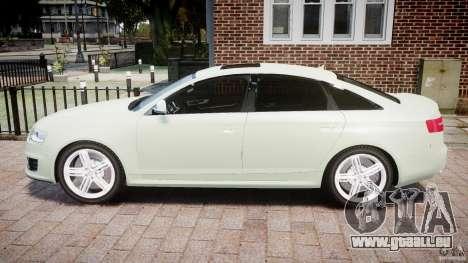Audi RS6 2010 für GTA 4 linke Ansicht