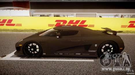 Koenigsegg CCXR Edition für GTA 4 linke Ansicht