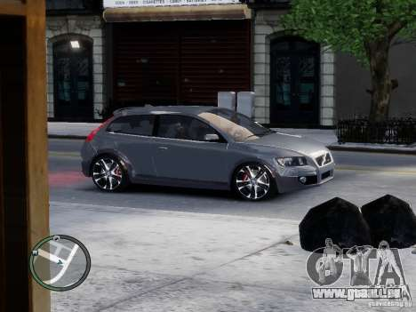 VOLVO C20 RSIGION für GTA 4 linke Ansicht