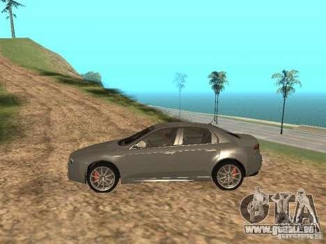 Alfa Romeo 159Ti pour GTA San Andreas laissé vue