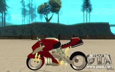New NRG Standart version pour GTA San Andreas laissé vue