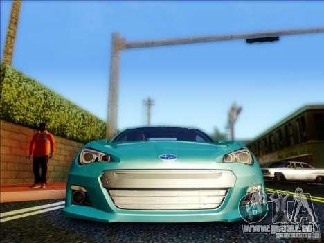 Subaru BRZ S 2012 für GTA San Andreas Innenansicht