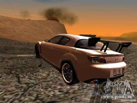 Mazda RX-8 Varis Custom für GTA San Andreas linke Ansicht