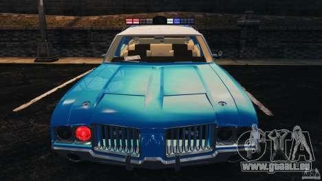 Oldsmobile Vista Cruiser 1972 Police v1.0 [ELS] für GTA 4 Räder