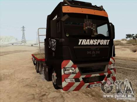 MAN TGX 8x4 pour GTA San Andreas