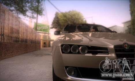 Alfa Romeo 159 für GTA San Andreas rechten Ansicht